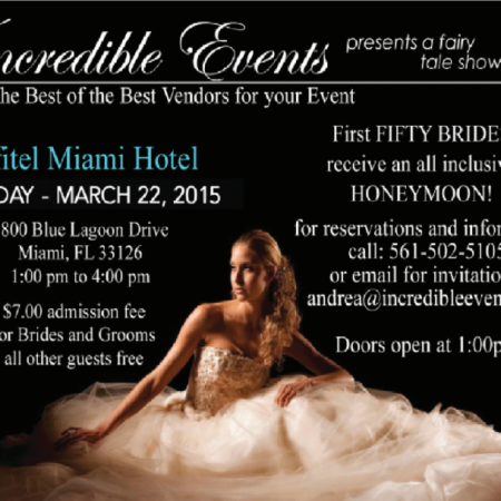 Show Flyer Sofitel for Incredible Events