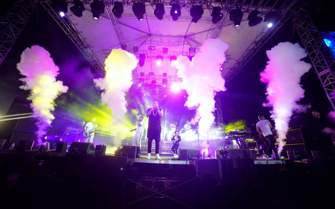 Special Effects for Gente de Zona Concert